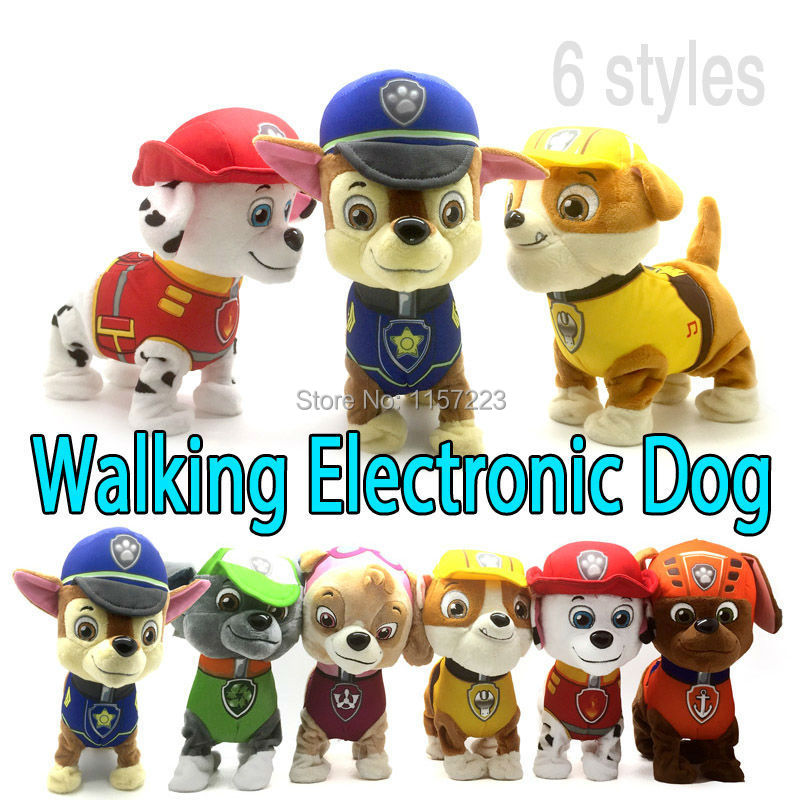Walking Barking Musical Robot Dog Electronic pet Toys Interactive Electric Pets Plush Toy Dog Christmas Gift For Kids hot sale short plush chew squeaky pet dog toy