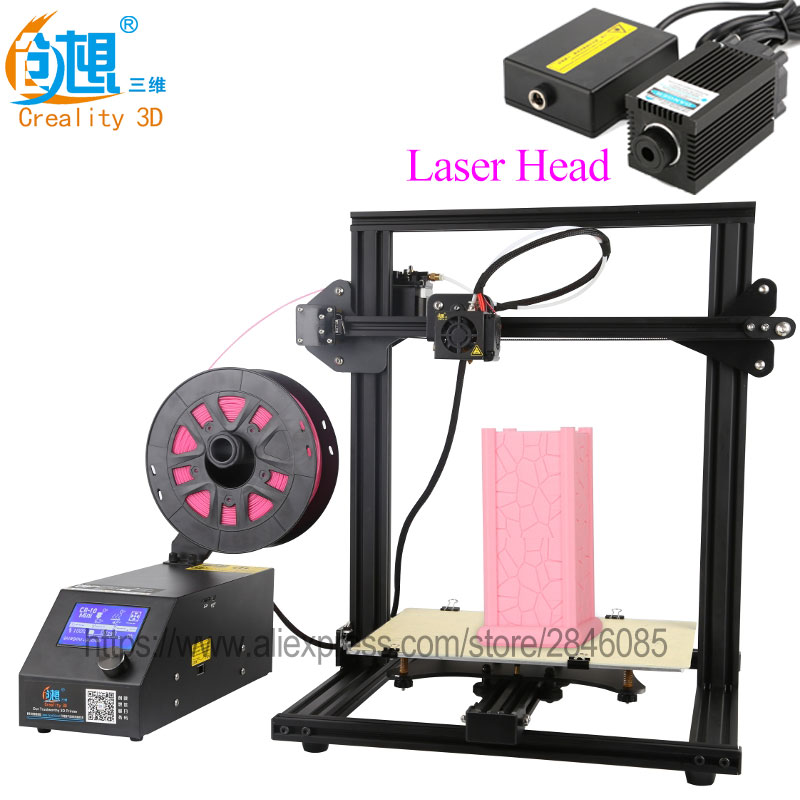CREALITY 3D Official Store 3D Printer CR-10 Mini Big Print Size 300*220*300mm Support Resume after power off 3D Printer DIY Kit flsun 3d printer big pulley kossel 3d printer with one roll filament sd card fast shipping