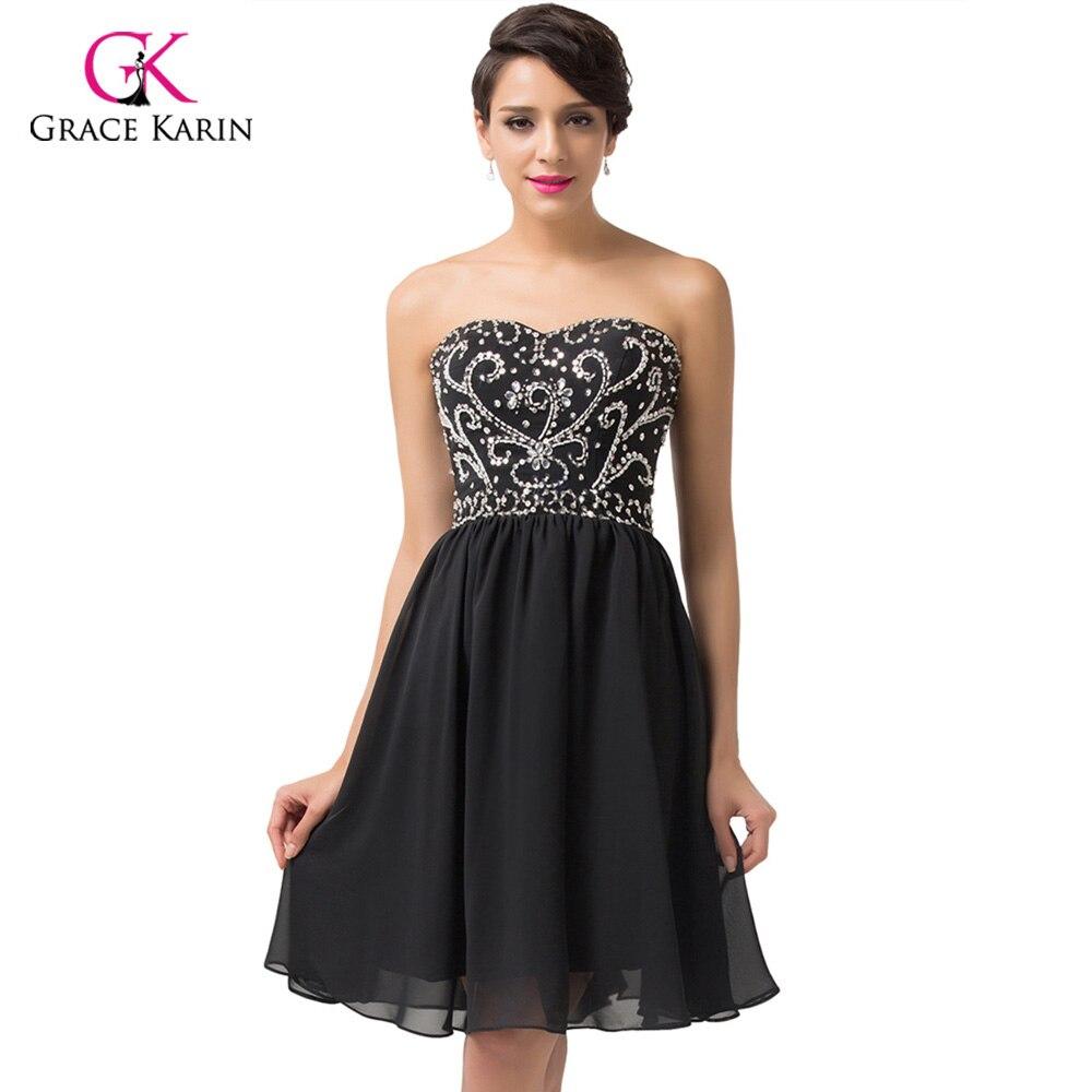 Short Prom dress Grace Karin Navy Blue Red Green black Vintage ...