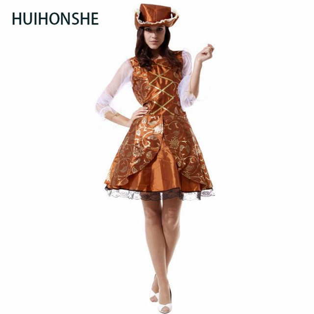 Adult Female Captain Buccaneer Pirate Cosplay Costume Women S Sexy