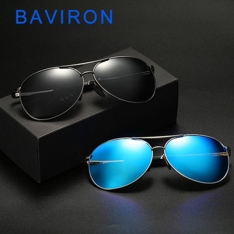 92d92c1ce3 Gafas de sol BAVIRON hombre polarizadas fotocrómicas piloto clásico ...