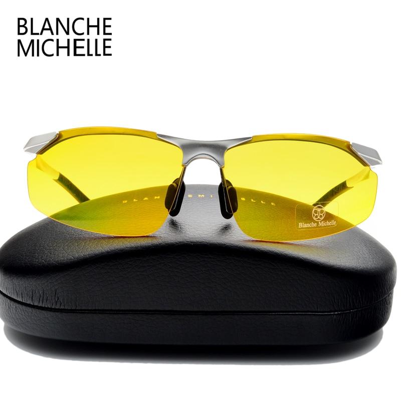 2018 Aluminium Magnesium Kacamata Pria Terpolarisasi UV400 Mengemudi - Aksesori pakaian - Foto 3