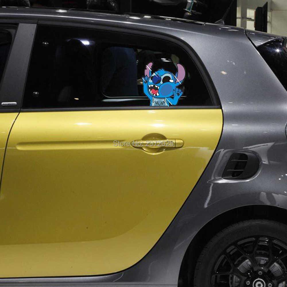Vendita calda Creativo di Avvertimento Car Styling Batman Ironman Spiderman Garfield Colpire il Vetro Auto Finestre Posteriore Autoadesivo del Parabrezza