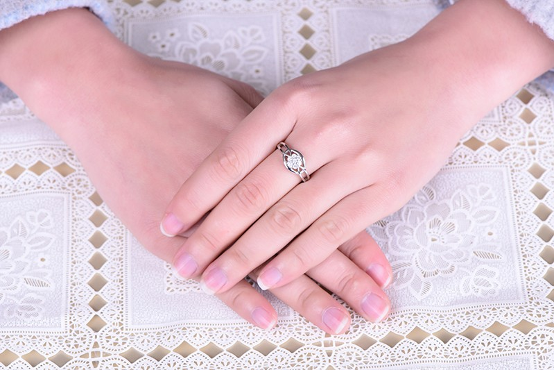 for silver ring wedding for 925 wedding ring,for ring finger ringDL48610A (5)