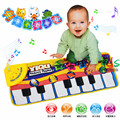 Baby Play Music Mat Crawling Mat Pad Touch Type Electronic Piano Music Game Mats Animal Sounds Sings Toys for Kid Multifunction