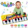 Música do Jogo do bebê Mat Rastejando Mat Pad Tipo de Toque Eletrônico Tapetes de Jogo de Música de Piano Animal Canta Sons Brinquedos para o Miúdo multifunções