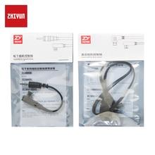 ZHIYUN הרשמי בקרת כבלים עבור מנוף בתוספת/V2/M כף יד מייצב Gimbal אביזרי חיבור עבור Sony Panasonic מצלמות