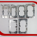 2 pcs liga de alumínio do metal alinhamento moldes para meizu mx3 telefone Molde Fixo Substituir LCD Cola UV OCA Laminado De Vidro Molde titular
