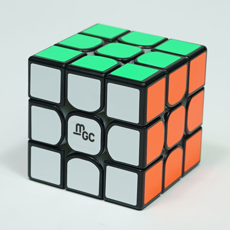 Image 5 - Original YJ MGC V2 M 3x3x3 Magnetic Magic Cube Version 2 Yongjun MGC V2 2*2 Speed Cube for Brain Training Toys for Children Kids-in Magic Cubes from Toys & Hobbies