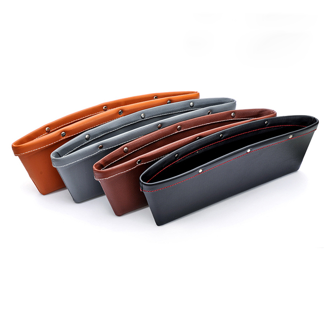 Car Storage Bag Box Car Seat Pocket Organizer Caddy Catcher Space ...