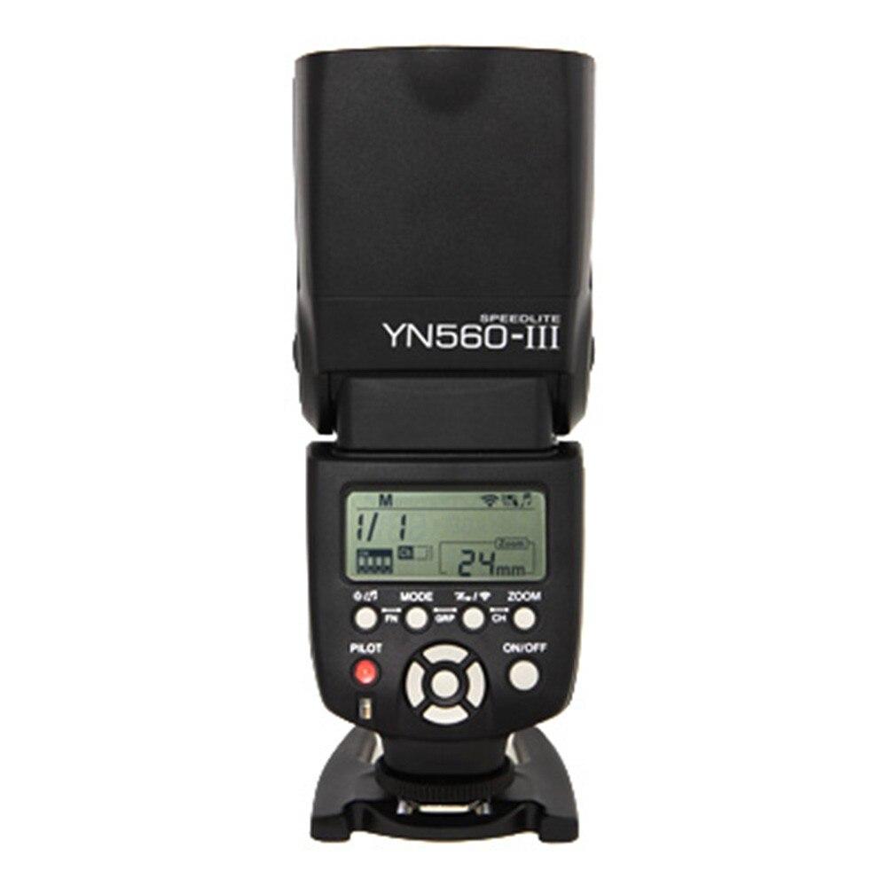 Yongnuo YN-560 III YN560III YN560 III Flash Speedlite manuel pour les appareils photo reflex numériques Canon Nikon Pentax Panasonic