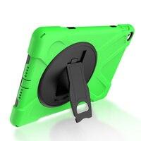 Batianda Nova Crianças Acidentadas Caso Protetor Para Apple iPad Air 2 Heavy Duty kickstand Silicone Rígido Capa Para iPad 6 Caso Tablet