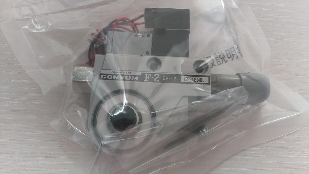 Japan CONVUM ejector vacuum generator CVF-2-10HSAB24BL scv 10 rc1 8 vacuum ejector smc type vacuum generator