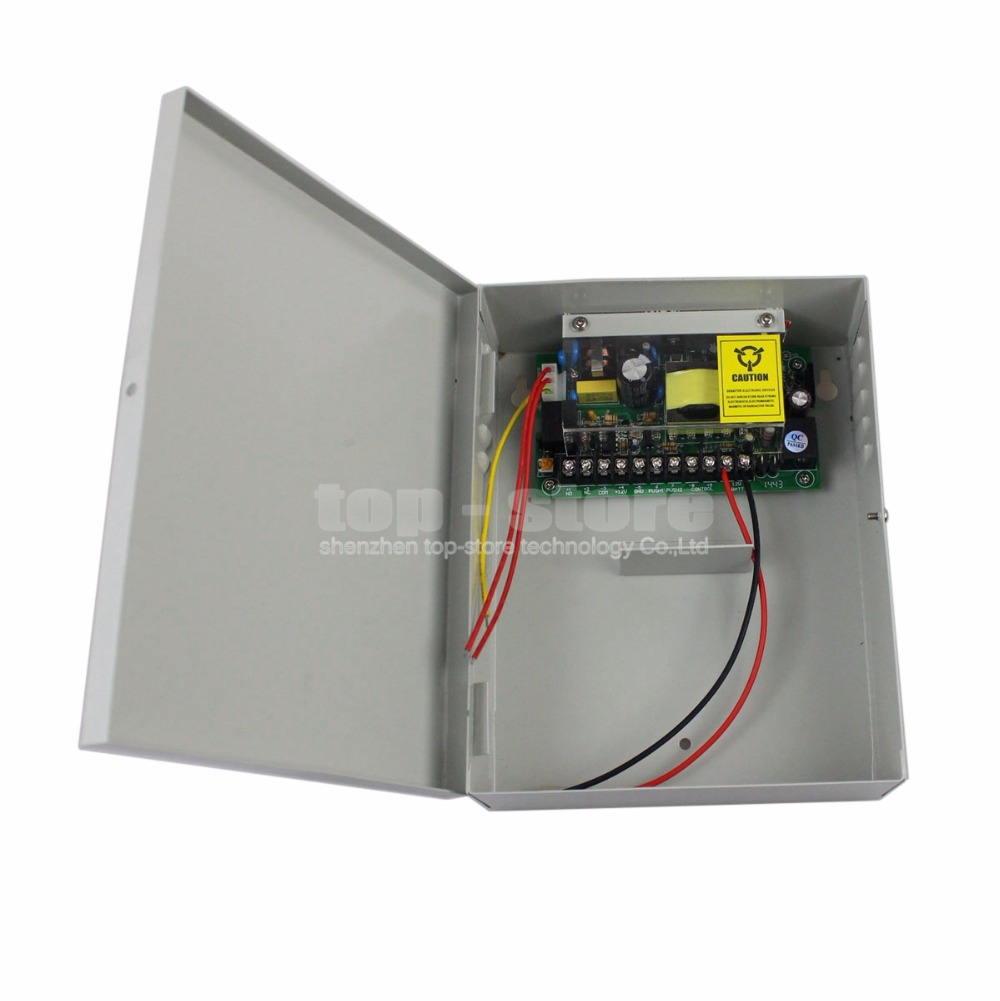 DIYSECUR 12V5A UPS Power Supply-UPS Box Backup Power Adapter for Access Control System