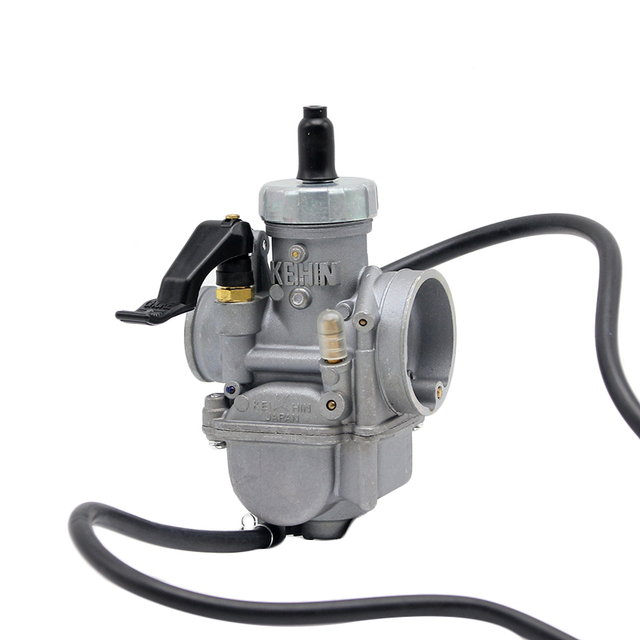 US $19 89 30% OFF|26mm carburetor PE26 racing power performance KEIHIN  carburetor hand choke for Tuned used at 100 125 150cc scooter motorcycle  -in