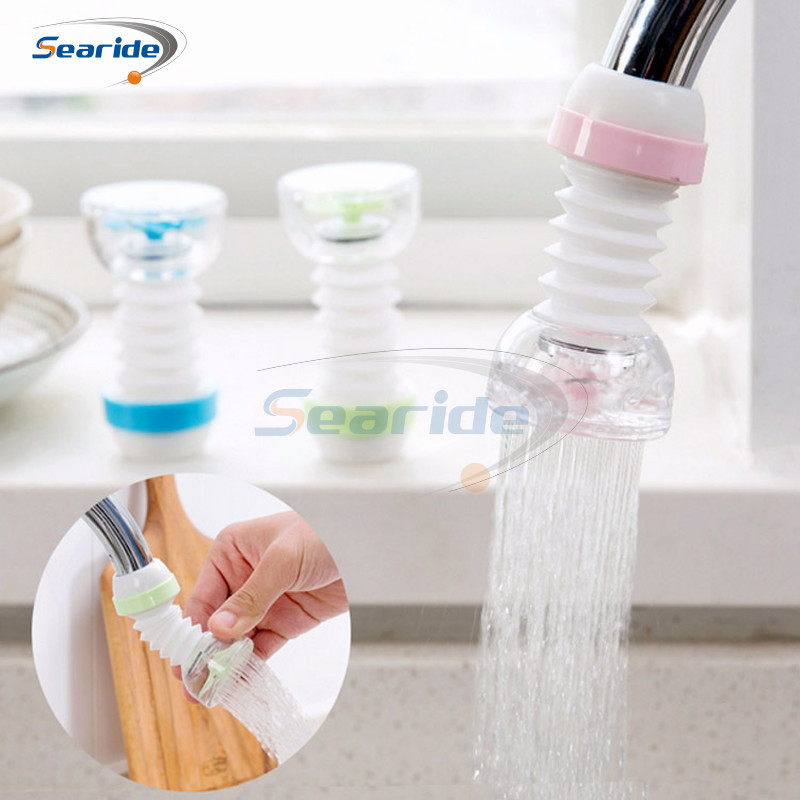 1Pcs Household Kitchen Faucet Filter Mai Fan Stone Magnetized Water Purifier Tap Water Filter Bathroom Water Saver