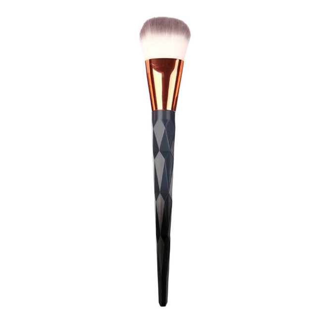 1PCS Diamond Grey Color Make Up Brush Concealer Brushes Foundation Eyebrow Eyeliner Blush pincel maquiagem