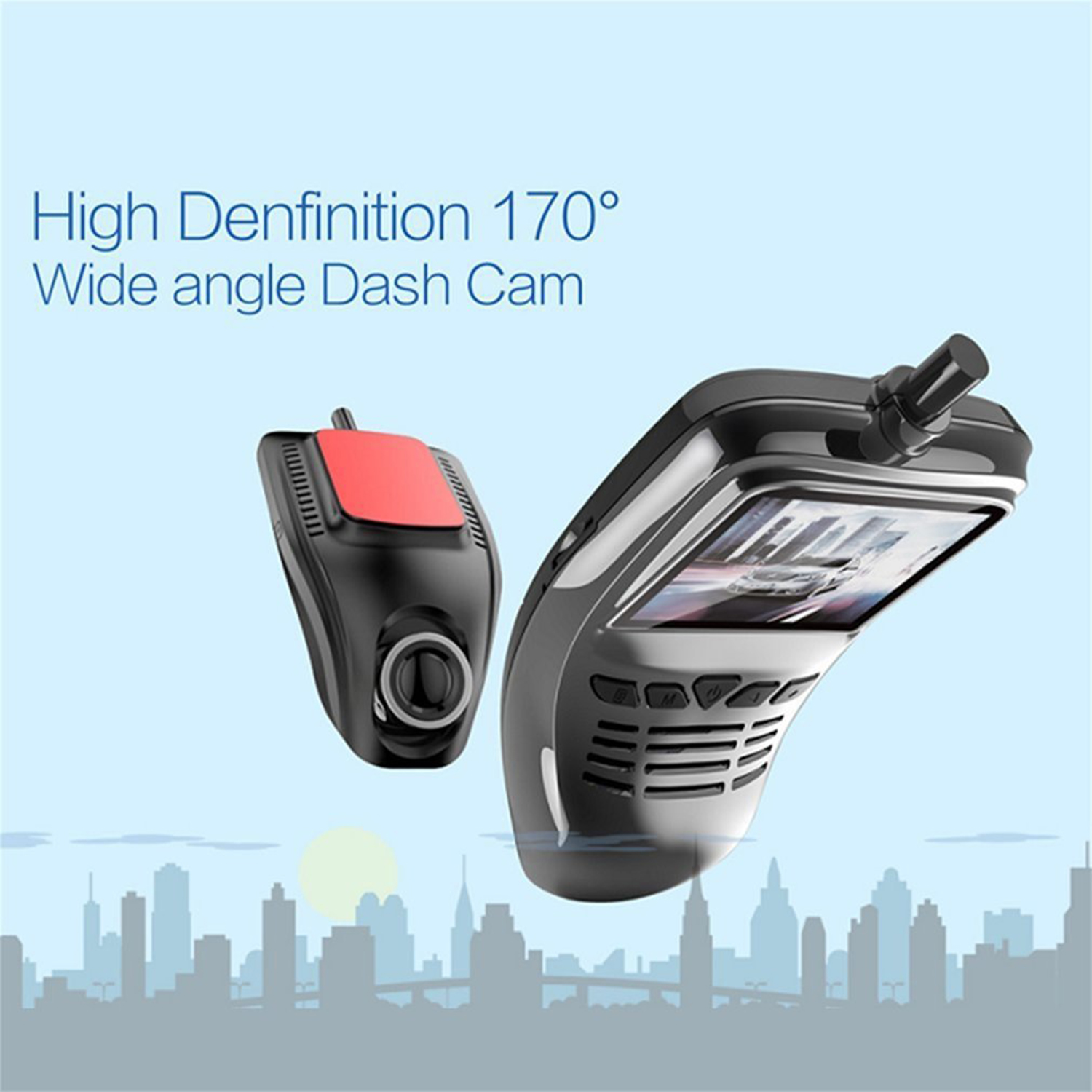 Image 3 - new Small Eye Dash Cam Car DVR Recorder Camera with Wifi Full HD 1080p Wide Angle Lens G Sensor Night Vision Dash Cam-in DVR/Dash Camera from Automobiles & Motorcycles