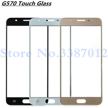 Front Outer LCD Touch Screen Lens Glass For Samsung Galaxy J5 Prime G570 G570F On5 2016 Parts Replacement With Logo image