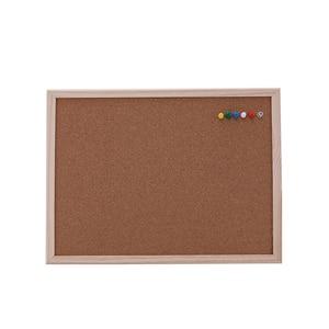 Image 1 - 1PCS kurk prikbord 30*40cm board Kurk naald Board Combinatie Tekentafel Grenen Frame