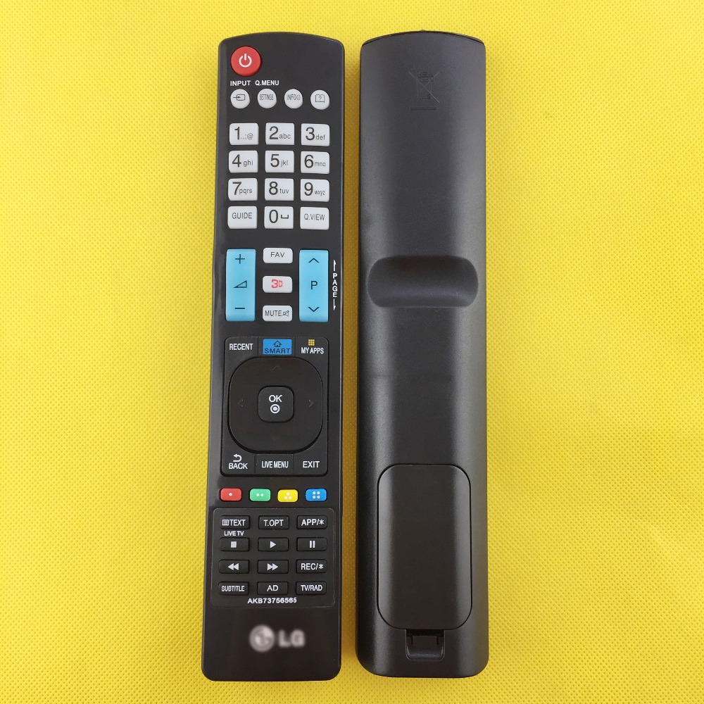 NEW REMOTE CONTROL LG AKB73756565 FOR LG TV 32LB650V 42LB650V 47LB650V 50LB650V title=