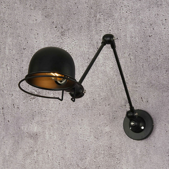 Vintage Adjustable Industrial Metal E14 Wall Light Retro Country Style Sconce Wall Lamp for Loft Bar Cafe Home Corridor nordic loft style industrial vintage wall lamp edison wall sconce adjustable metal wall light fixtures for home lighting