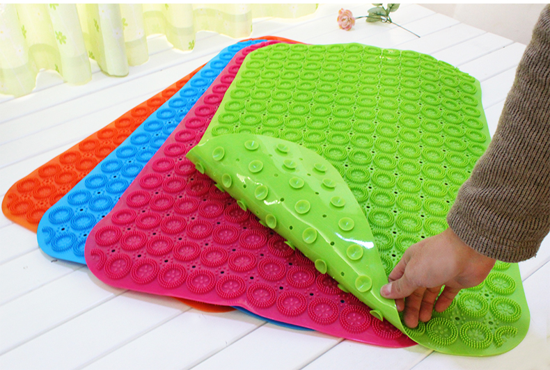 Tasteless Green Plastic Bath Mat Large Bathroom Shower Mats With Suction  Cups Wei In Bath Mats From Home U0026 Garden On Aliexpress.com   Alibaba Group