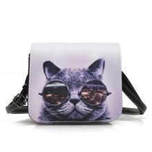 Fashion Cat Design Women's Messenger Bag Fashion Quality Female Purse Bag Handbag Ladies Crossbody bags Shoulder Bags