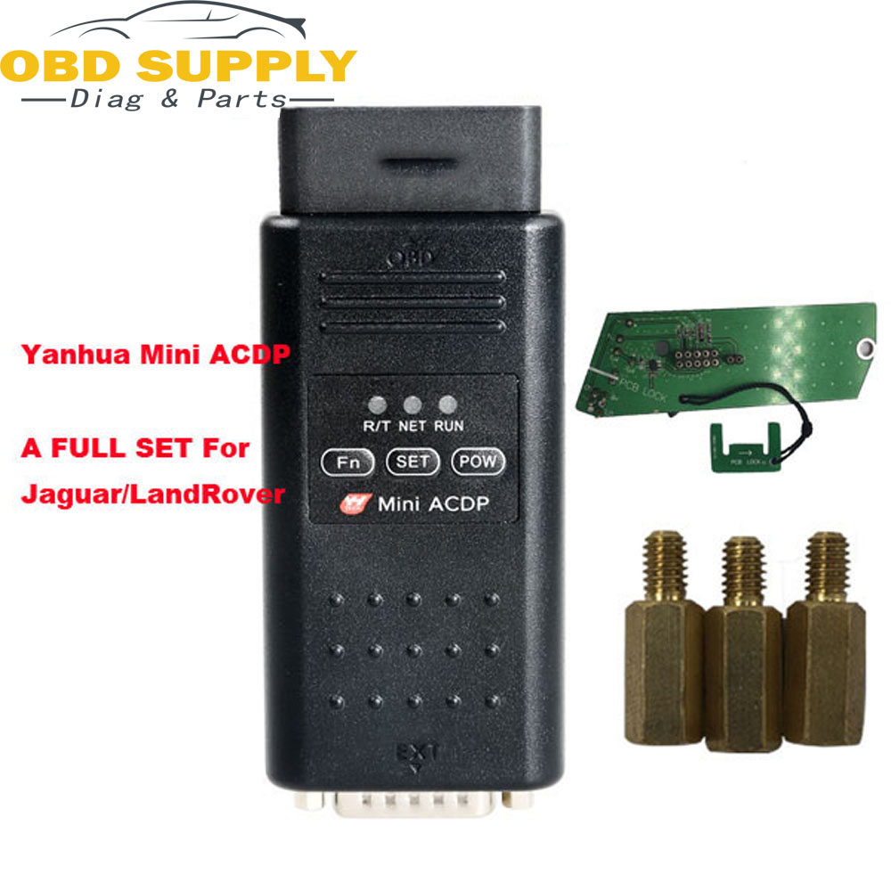 Yanhua Mini ACDP A full set for Jaguar/LandRover KVM Module Support Adding key and all-key-lost no soldering toyo key obd ii key pro support all key lost for toyota g