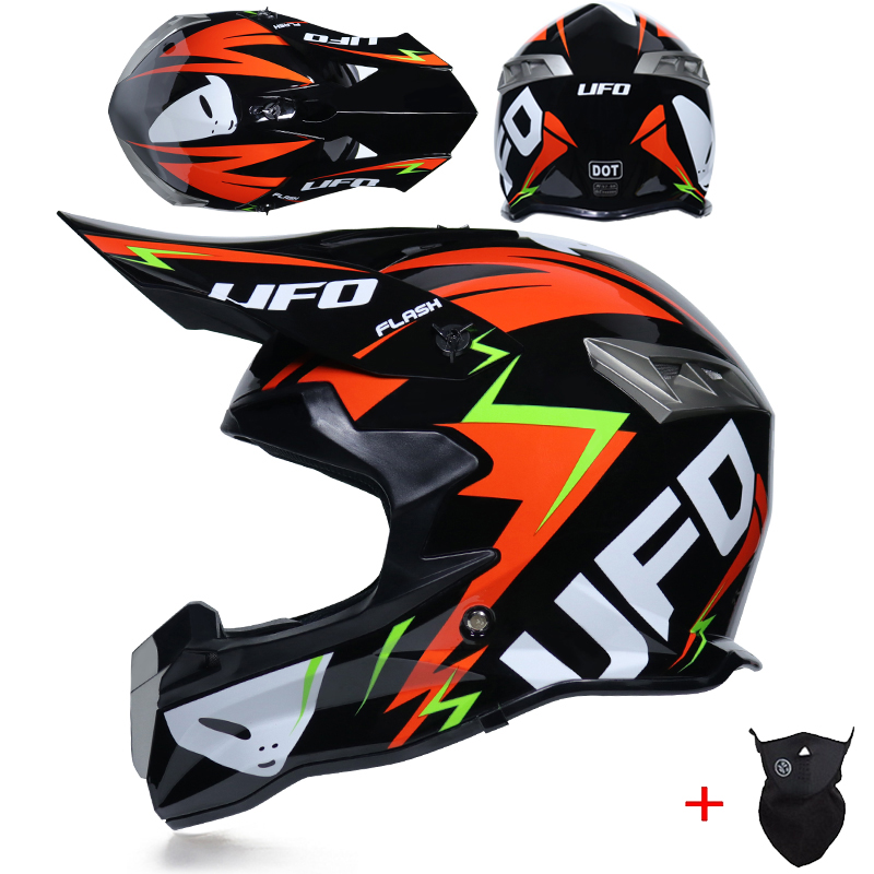 CASCHI MOTOCROSS WULF SPORT CASCO MOTO OFF-ROAD SCEPTRE ENDURO QUAD CRASH RACING