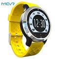 Monitor de freqüência cardíaca do smart watch relógio do esporte pedômetro à prova d' água de natação garmin fenix 3 fitbit smartwatch para apple pk u8/dz09