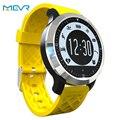 Natación podómetro monitor del ritmo cardíaco de smart watch impermeable deporte reloj u8 smartwatch para apple garmin fenix 3 fitbit pk/dz09