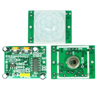 1Pc HC-SR501 Adjust IR Pyroelectric Infrared PIR Motion Sensor Detector Module VE710 P0.11