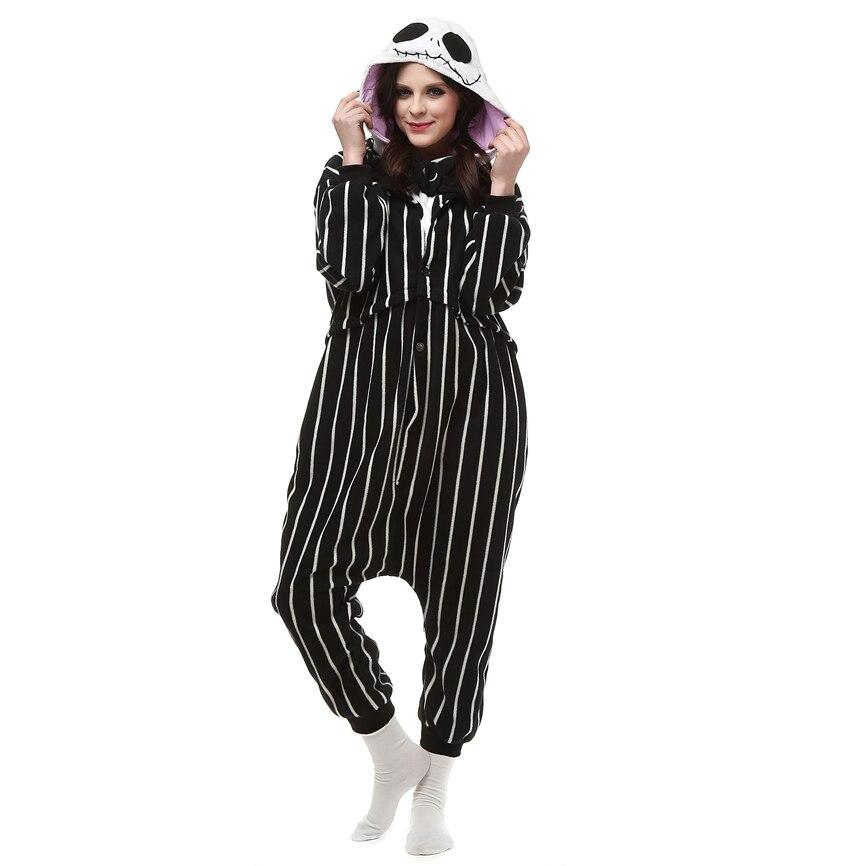 Nightmare Before Christmas JACK Kigurumi Pajama Cosplay Costume Onesi1 Sleepwea