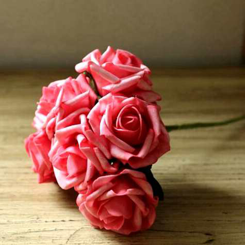 2PCS Rose 5 Kinds Of Color Holding A Rose Hand Tied Bouquet Wedding Accessories Artificial Flower Silk Flower