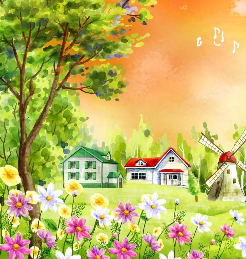 Forest Harp Fairy Multi Panel Paintings Wall Art Canvas Print Oil ...