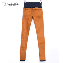 Jeans Women Mujer Winter Velvet Skinny Jeans Warm Pencil Pants Stratch High Waist Plus Size Trousers Female Hot Sale DONGDONGTA(China)