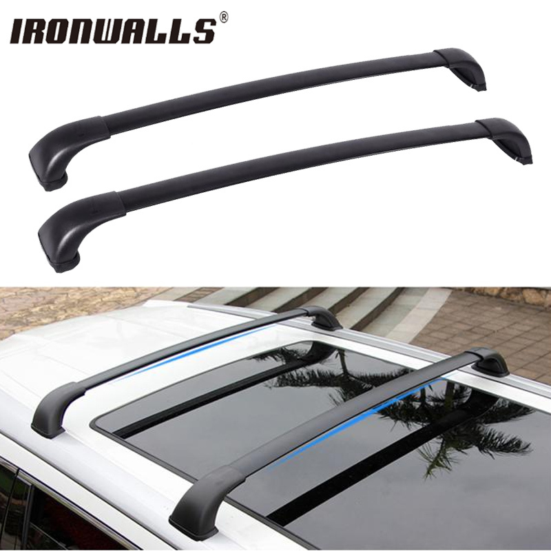 Ironwalls Car Roof Rack Cross Bars Roof Luggage Carrier Roof Rail For Toyota Highlander Le 2014 2015 2016 2017 75kg165lbs In Roof Racks Boxes From