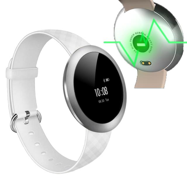 Pantalla Táctil completa Banda de la Muñeca Inteligente Pulsómetro ZB51 Pulsera Deportivo Reloj Reloj Resistente Al Agua Bluetooth Pulsera Smartband