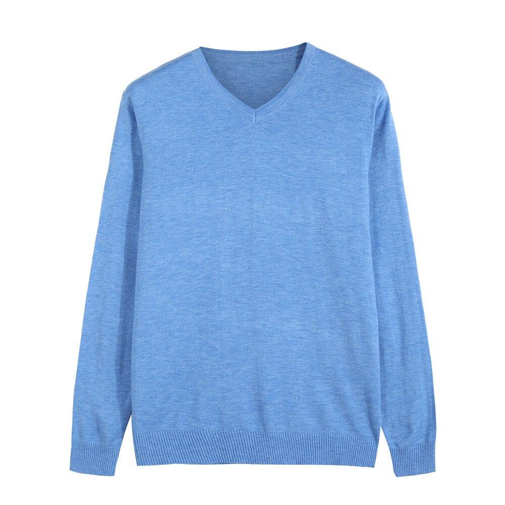 14 Farbe 2018 Herbst Winter Neue Gestrickte Pullover Männer Business Kaschmir Pullover Männer Casual V-kragen Pullover Marke Kleidung Rabatte Verkauf