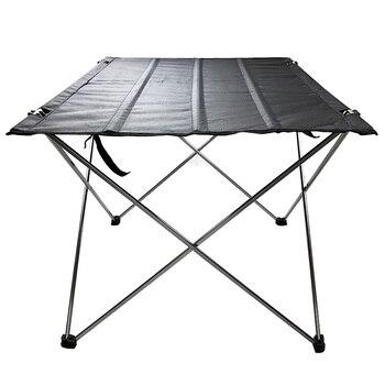 Portable Table Foldable Folding Camping Hiking 75*55*53cm 56*43*37cm