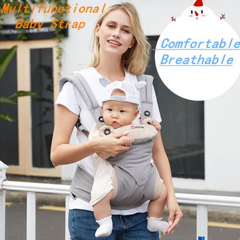 Ergonomic Baby Wrap Carrier Strap Multifunctional Breathable Newborn Baby Sling Wrap Portable Infant Travel Waist Back Stool