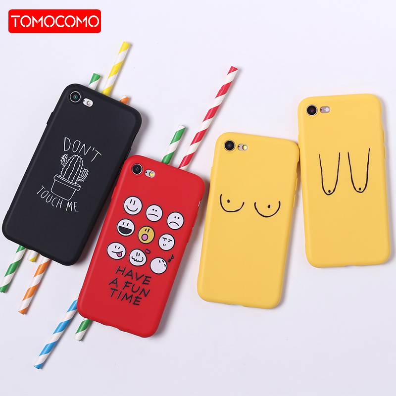 <font><b>Funny</b></font> Experssion Cartoon Emoji Cactus Silicone Matte Soft Phone <font><b>Case</b></font> Fundas For <font><b>iPhone</b></font> 11 7Plus 7 6Plus 6 6S 8 8Plus X XS Max image