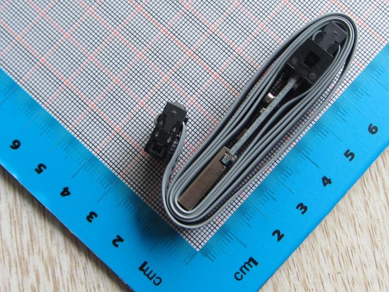 Original 1pc 51 AVR Microcontroller Download Cable USBASP USBISP Downloader Red And Blue LED Support Win7