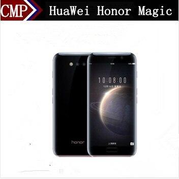 """Оригинальный HuaWei Honor Magic 4G LTE мобильный телефон Kirin 950 Android 6,0 5,09 """"К 2 к 4G X 4G 1440 B оперативная память 6 2560 B Встроенная отпечатков пальцев 12.0MP"""