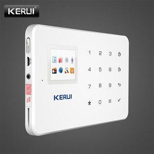 Image 5 - Беспроводная GSM сигнализация KERUI G18, умная система охранной сигнализации с поддержкой SIM карт, с приложением для Android и IOS, с датчиком движения