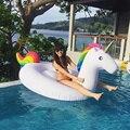 Lago InflataWhite Nova Verão Salão Piscina De Água De Natação Do Miúdo Brinquedo Unicórnio Rideable Inflável Float Segurança Gigante de Boa Qualidade