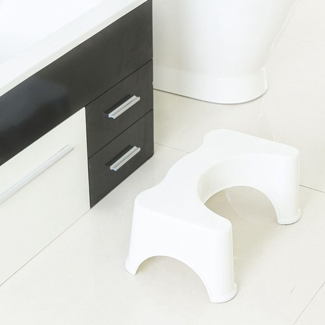 U-Shaped Squat Toilet Stool Anti-Slip Mat Bathroom Assistant Assistant Foot Pad To Constipation Pile 3