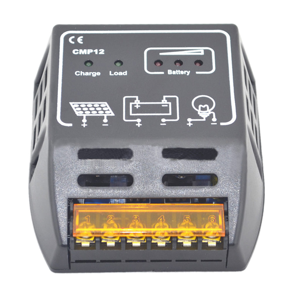Hot 1pc 12v 24v 10a Solar Panel Adapter Charge Controller Battery Circuit Regulator