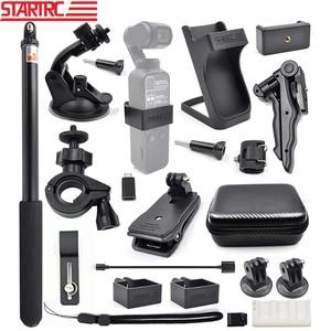 Image 1 - Startrc cardan câmera osmo bolso expansão acessórios kit/21 em 1 handheld ação câmera monta peças para dji osmo bolso
